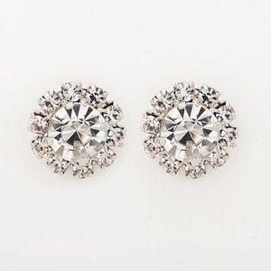 🆕 Crystal Flower Stud Fashion Earrings